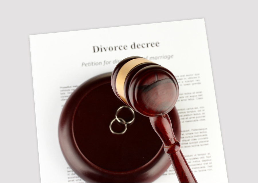 divorce contested